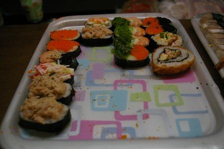 Sushi ! Même ici !