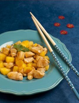 Recette de poulet à la mangue
