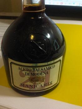 Recherche d'info sur un vinaigre balsamique