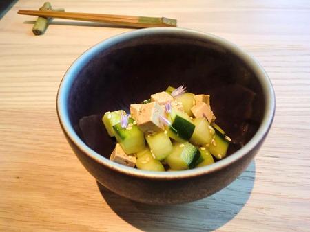 tofu concombre