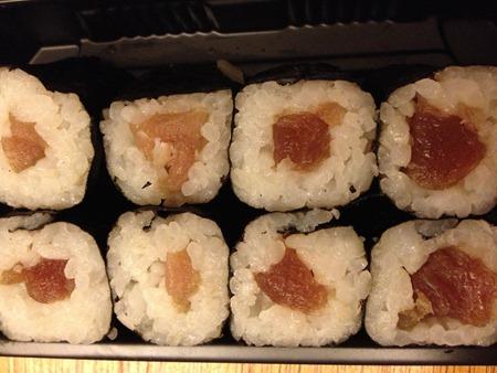 Sushi Carrefour deuxième partie
