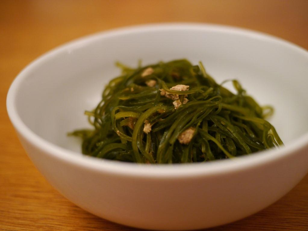 Recette d'algues Sukikombu!