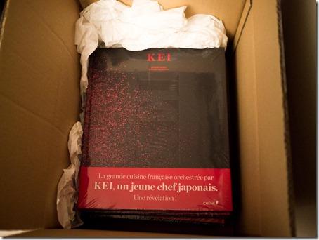 KEI le livre, arrivé chez moi aujourd'hui !!
