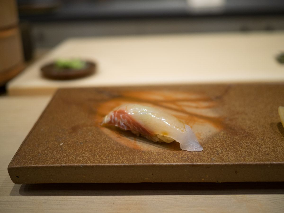Sushi Onodera. Les sushis