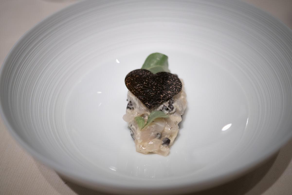 tartare de saint jacques truffe