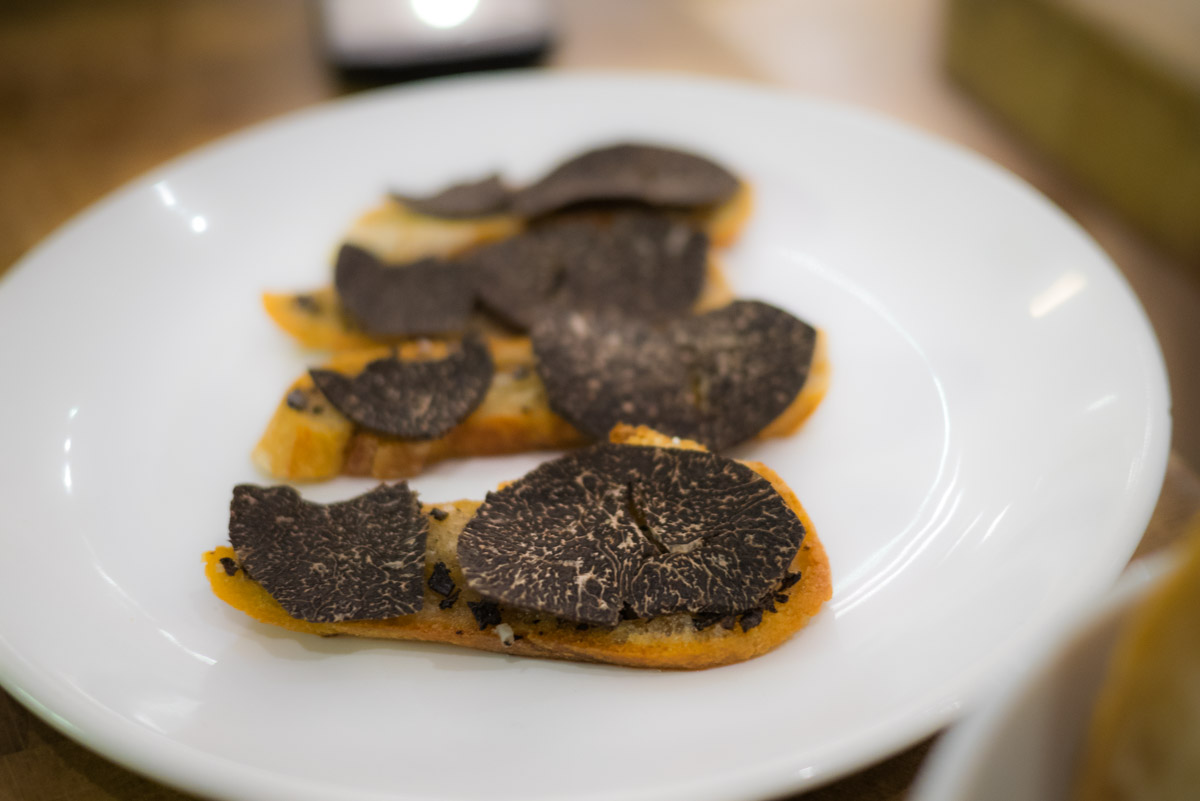 tartines de truffe