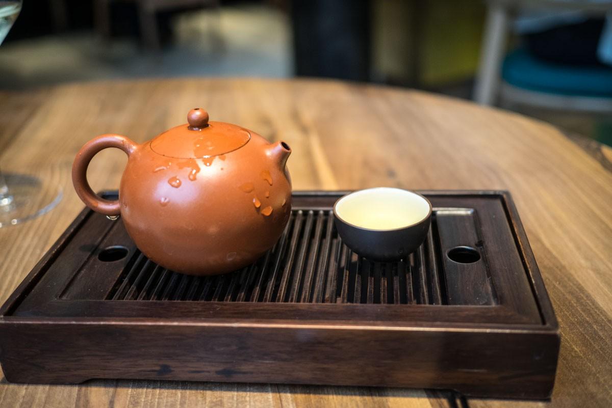 Oolong d'or. Un thé aux parfums raffinés, noble comme un Tie Guan Yin.