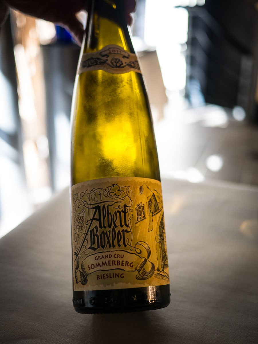 Premier vin.