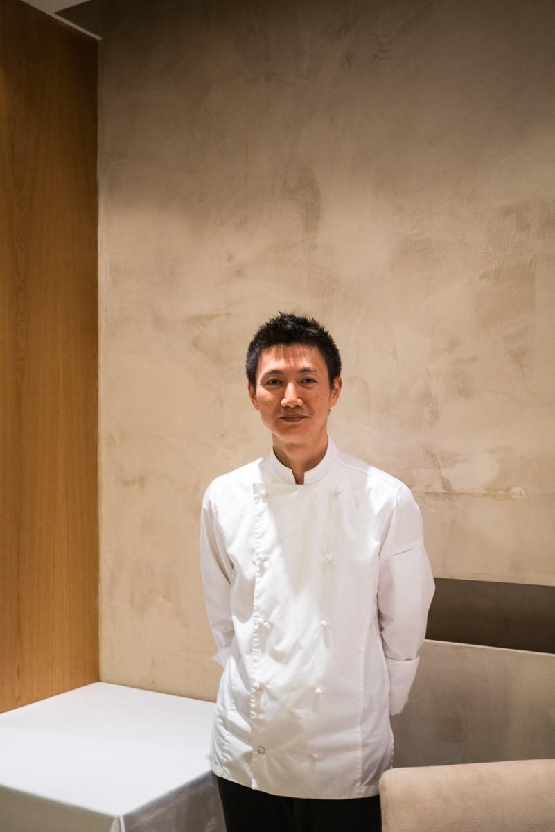 Le chef Keisuke Yamagishi.