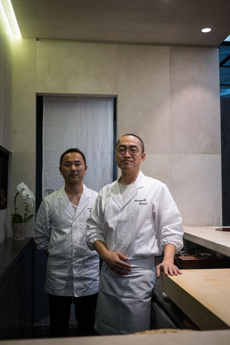 Les deux cuisiniers.