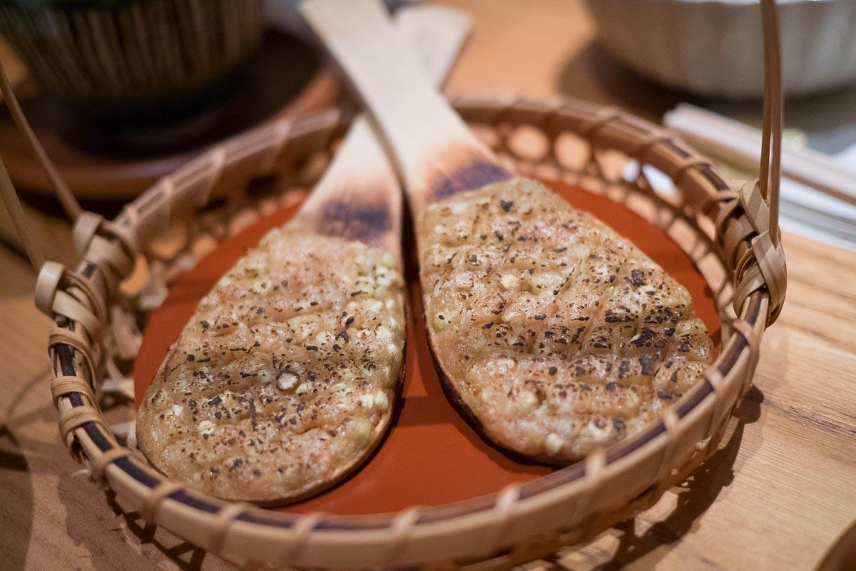 Soba-miso. Du soba en grains mélangé à du miso et assaisonné sucré salé.