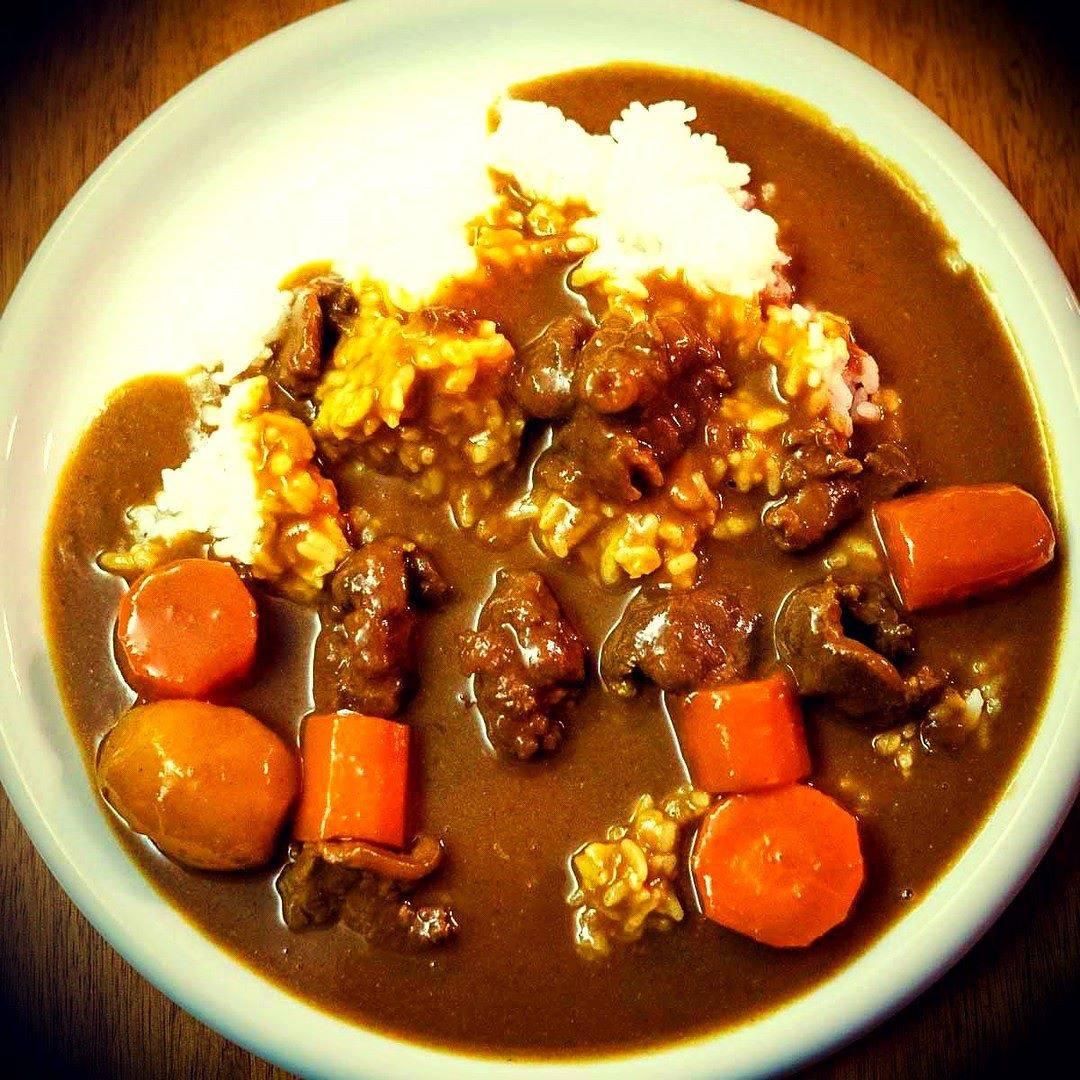 Curry rice japonais