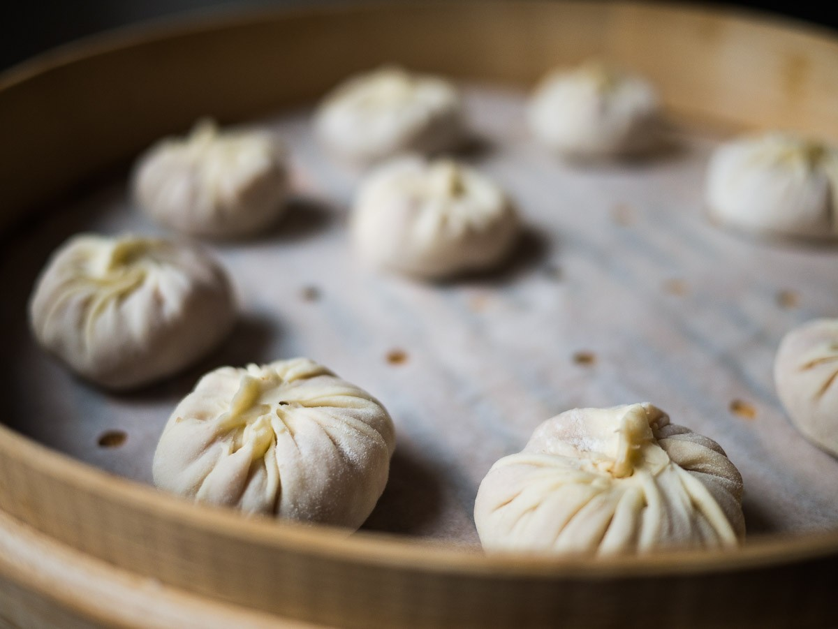 Xiao long bao en devenir.