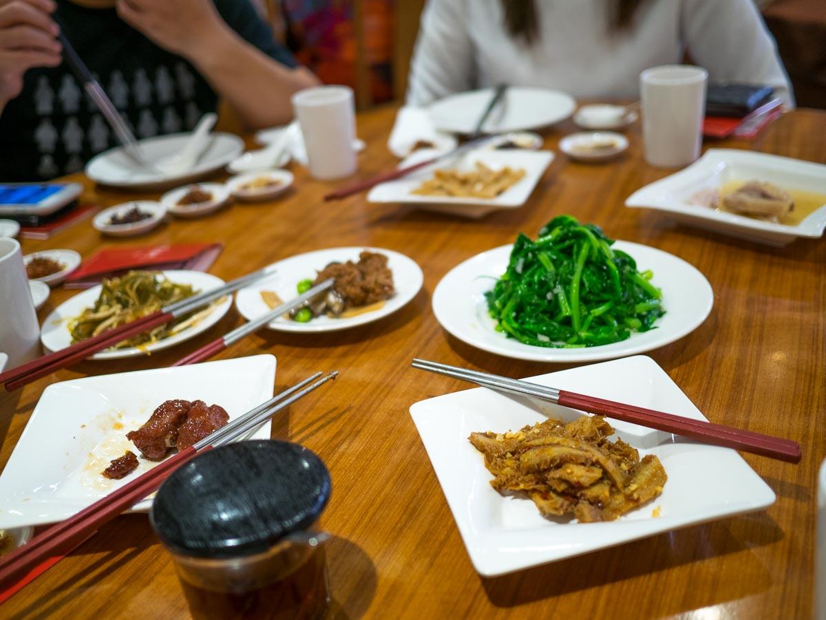 Din Tai Fung – menu détaillé