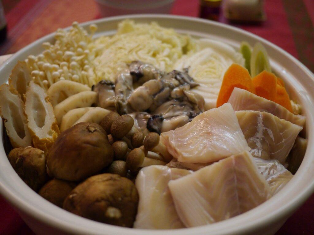 Recette de nabé d'huîtres – kakinabé