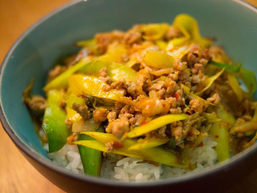 Recette ultra-simple si le kimchi est bon
