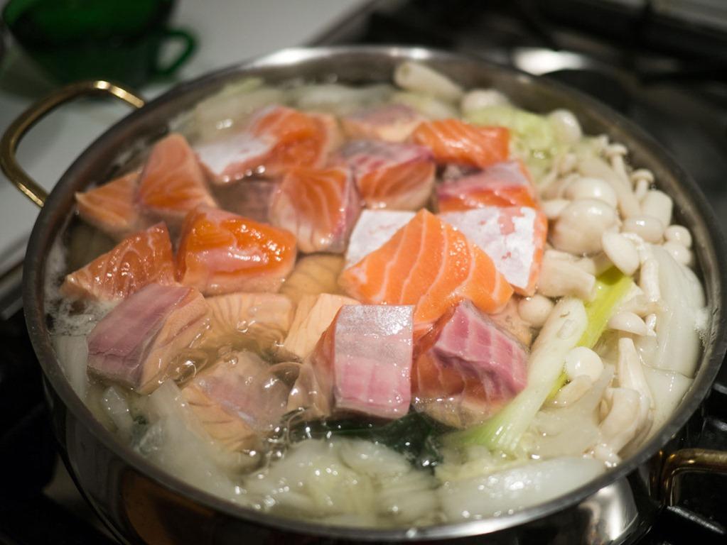 Nabé de saumon